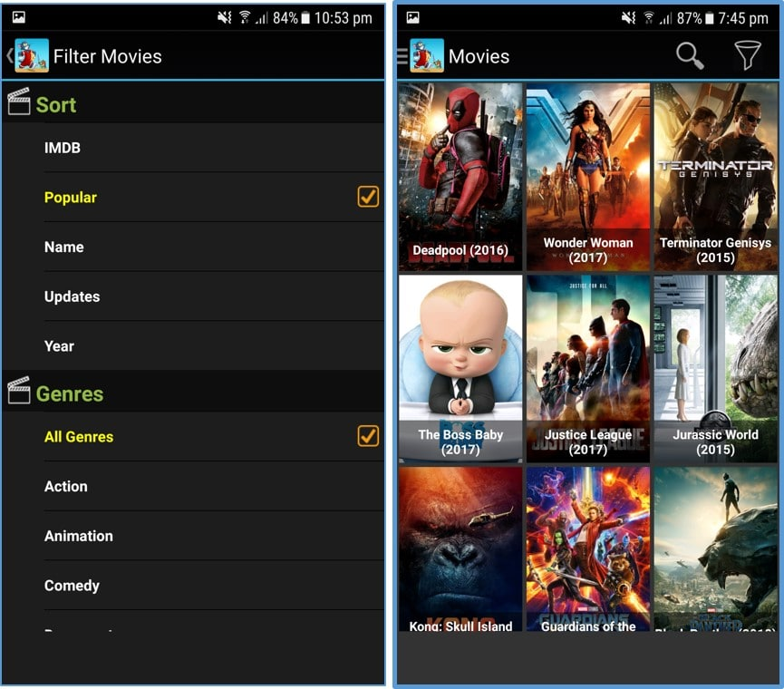 cartoon hd popular movies