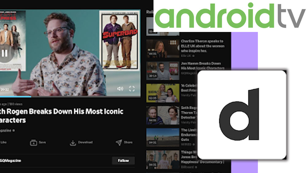 DailyMotion for Android TV
